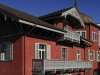 Rotes Haus in Chur, Graubünden, Schweiz